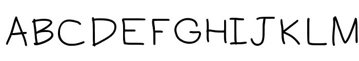 aaron Font UPPERCASE