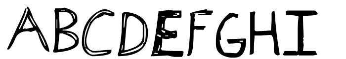 AAI Alexcove Regular Font UPPERCASE