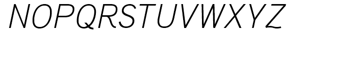 Aaux Pro Light Italic SC Font UPPERCASE