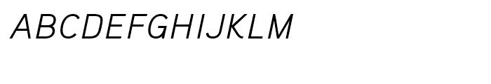Aaux Pro Light Italic SC Font LOWERCASE