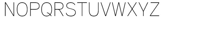 Aaux Pro Thin OSF Font UPPERCASE
