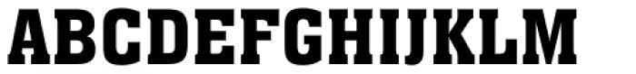 Aachen Font UPPERCASE