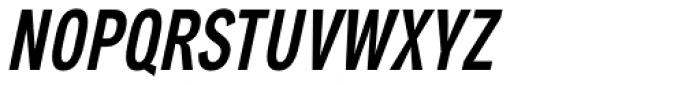 Aago Compressed Medium Italic Font UPPERCASE