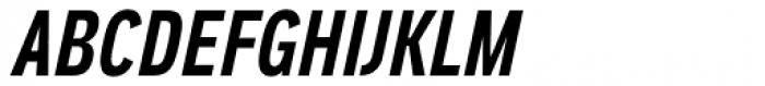 Aago Compressed SemiBold Italic Font UPPERCASE