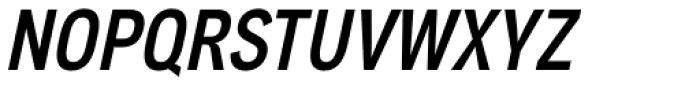 Aago Condensed Medium Italic Font UPPERCASE