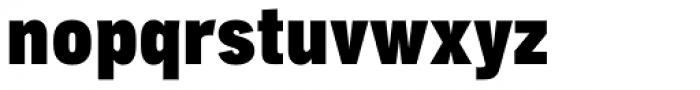 Aago Condensed Ultra Font LOWERCASE