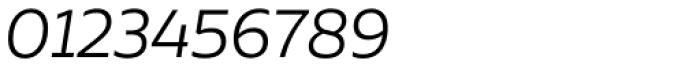 Aalto Sans Essential Alt Light Italic Font OTHER CHARS