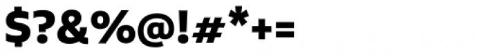 Aalto Sans Pro Bold Font OTHER CHARS