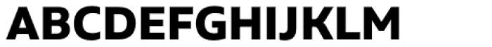 Aalto Sans Pro Bold Font UPPERCASE