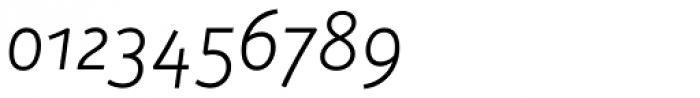 Aanaar Light Italic Font OTHER CHARS