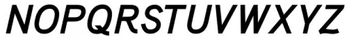 Aaux Bold Italic Font UPPERCASE