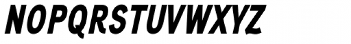 Aaux Next Comp Black Italic Font UPPERCASE