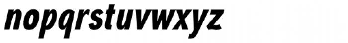 Aaux Next Comp Black Italic Font LOWERCASE