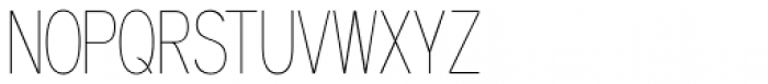 Aaux Next Comp Hairline Font UPPERCASE