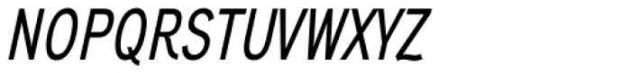 Aaux Next Comp Medium Italic Font UPPERCASE