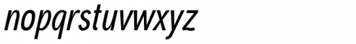 Aaux Next Comp Medium Italic Font LOWERCASE