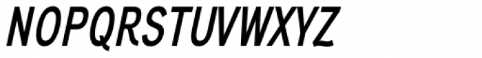 Aaux Next Comp SemiBold Italic Font UPPERCASE