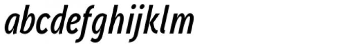Aaux Next Comp SemiBold Italic Font LOWERCASE