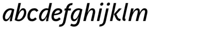 Aaux Next SemiBold Italic Font LOWERCASE