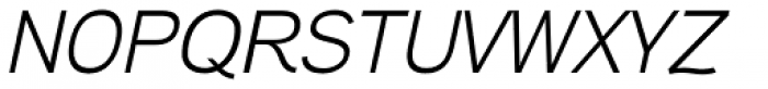 Aaux Next Wide Italic Font UPPERCASE