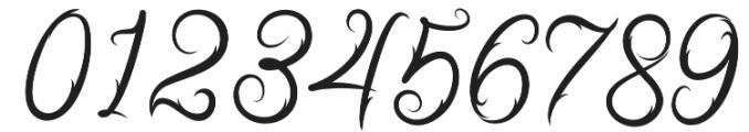 Ababil Script Regular otf (400) Font OTHER CHARS