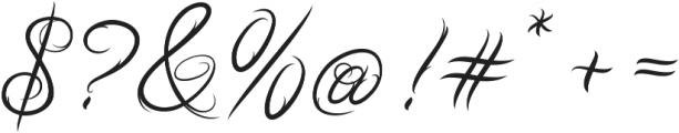 Ababil Script Std Regular ttf (400) Font OTHER CHARS