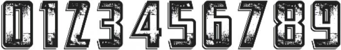 Abandoned otf (400) Font OTHER CHARS