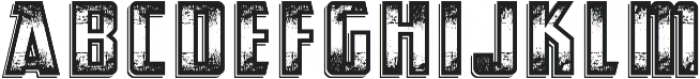 Abandoned otf (400) Font UPPERCASE