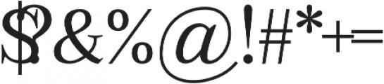 Abberwick otf (400) Font OTHER CHARS
