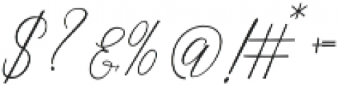 Abbie Bold Bold ttf (700) Font OTHER CHARS