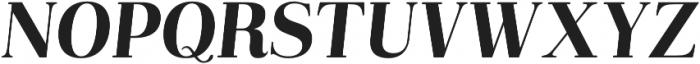 Abbiente Regular Italic otf (400) Font UPPERCASE