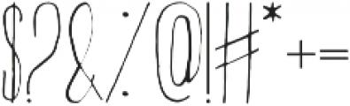Abeetha otf (400) Font OTHER CHARS