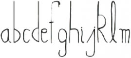 Abeetha otf (400) Font LOWERCASE
