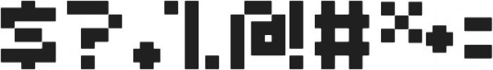 Abeja Tribe Bold otf (700) Font OTHER CHARS