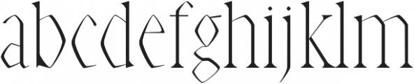 Abell Light otf (300) Font LOWERCASE