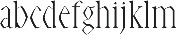 Abell Medium otf (500) Font LOWERCASE