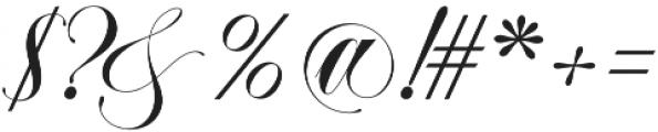 Abella Script otf (400) Font OTHER CHARS