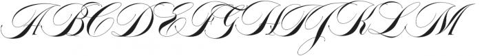 Abella Script otf (400) Font UPPERCASE