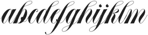 Abella Script otf (400) Font LOWERCASE