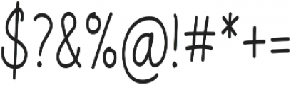 Aberdeen Condensed Regular ttf (400) Font OTHER CHARS