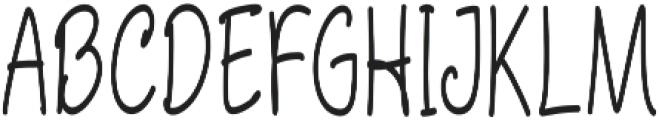 Aberdeen Condensed Regular ttf (400) Font UPPERCASE