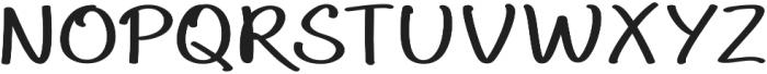 Aberdeen Expanded Bold ttf (700) Font UPPERCASE