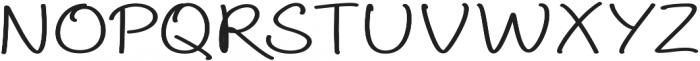 Aberdeen Extra-expanded Regular ttf (400) Font UPPERCASE