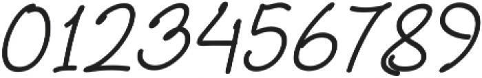 Aberdeen Italic ttf (400) Font OTHER CHARS