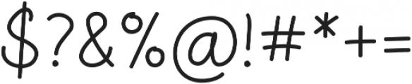 Aberdeen Regular ttf (400) Font OTHER CHARS