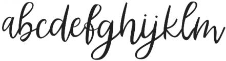 Abhyaksa otf (400) Font LOWERCASE