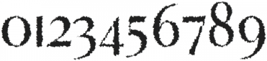 Abiah Distorted otf (400) Font OTHER CHARS
