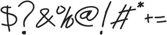 Abichondro Black otf (900) Font OTHER CHARS