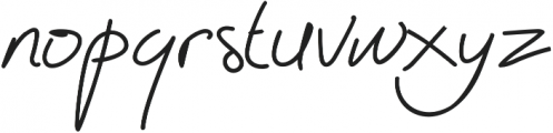 Abichondro Black otf (900) Font LOWERCASE