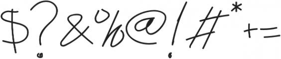 Abichondro Semi Bold otf (600) Font OTHER CHARS